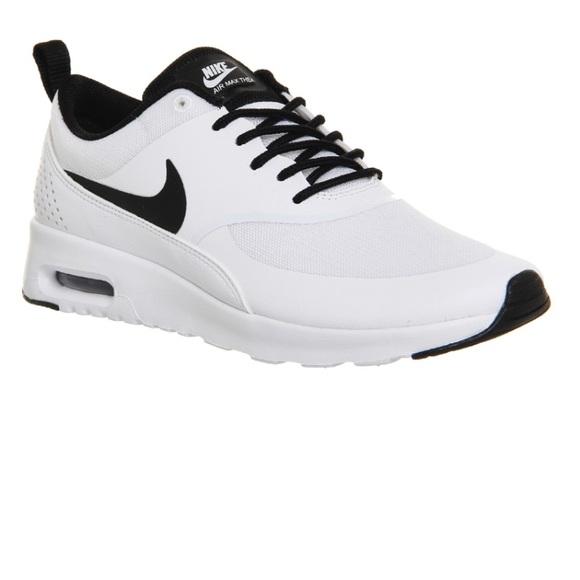 555c69fb9e Nike Air Max Thea White/Black Lace Up Sneakers 8. M_5b214c677386bc713c9eb09c